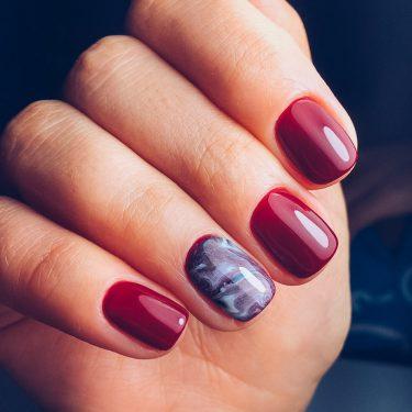 Тенденции маникюра 2017 — Разноцветные ногти с отливом
