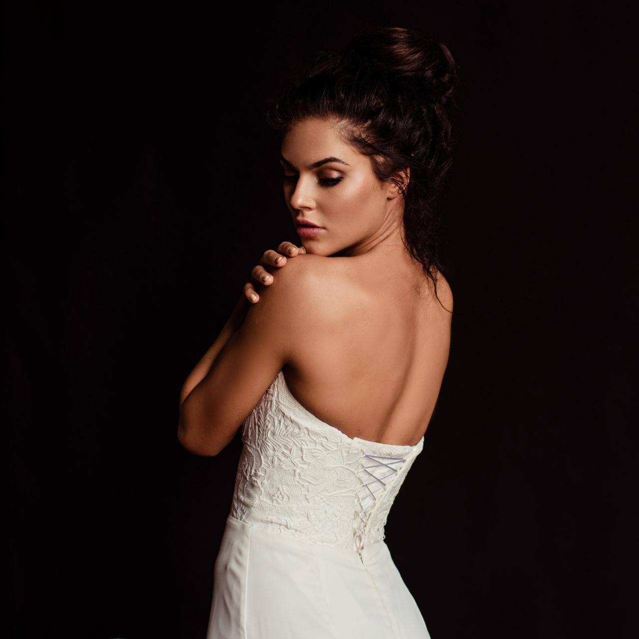 Свадебный образ для Алены от визажиста Аллы из салона красоты Персона в Мытищах