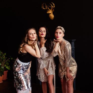 Образ на вечеринку для трех подружек от визажиста Аллы