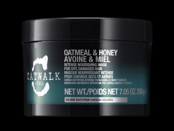 Интенсивная маска для питания сухих и ломких волос TIGI CATWALK oatmeal & honey