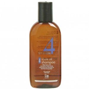 Система 4 Шампунь 4 для жирной и чувствительной кожи головы 100 мл System 4 shale oil shampoo 4