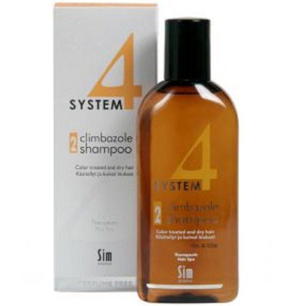 Система 4 Шампунь 2 для сухих и окрашенных волос 215 мл System 4 climbazole shampoo 2