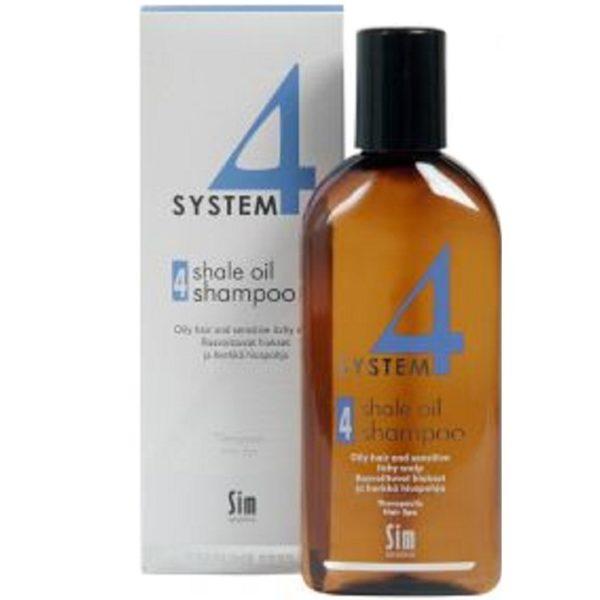 Система 4 Шампунь 4 для жирной и чувствительной кожи головы 215 мл System 4 shale oil shampoo 4