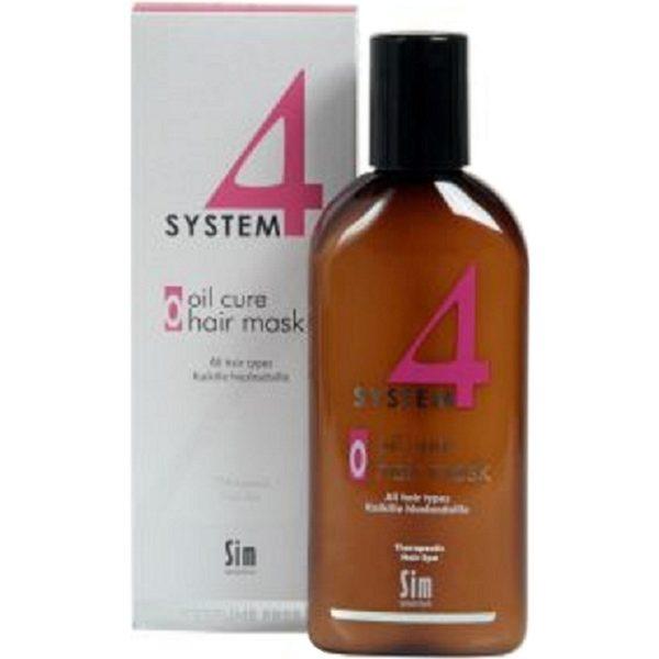 Система 4 Маска О для пилинга кожи головы для всех типов волос 215 мл Oil Cure Hair Mask System 4