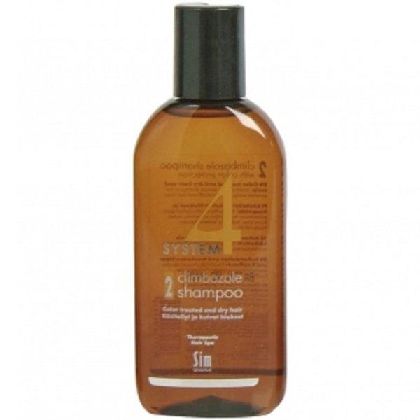 Система 4 Шампунь 2 для сухих и окрашенных волос 100 мл System 4 climbazole shampoo 2