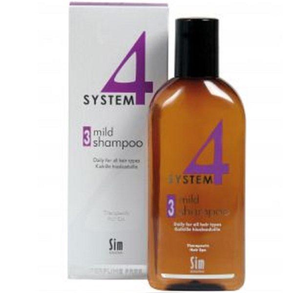 Система 4 Шампунь 3 для всех типов волос 215 мл System 4 mild shampoo 3