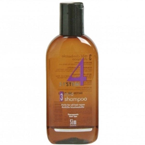 Система 4 Шампунь 3 для всех типов волос 100 мл System 4 mild shampoo 3