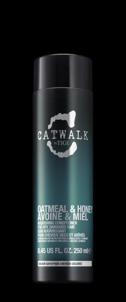 Кондиционер для питания сухих и ломких волос TIGI CATWALK oatmeal & honey