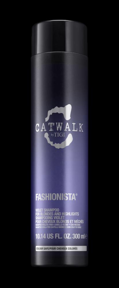 Шампунь для коррекции цвета осветленных волос TIGI CATWALK fashionista