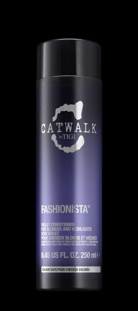 Кондиционер для коррекции цвета осветленных волос TIGI CATWALK fashionista