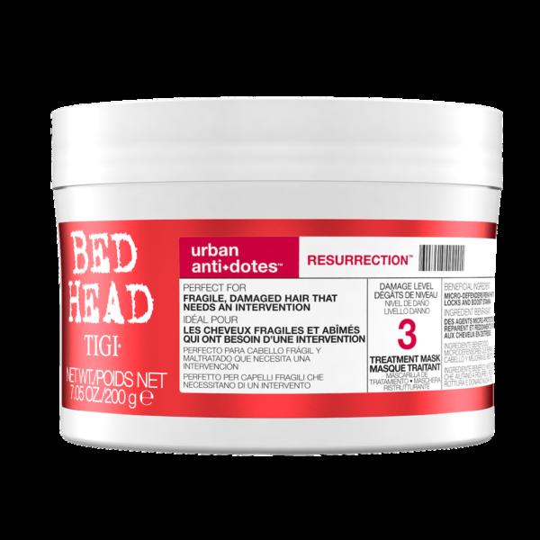Маска для сильно поврежденных волос TIGI Bed Head urban anti+dotes 3 RESURRECTION